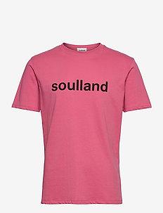 LOGIC CHUCK T-SHIRT W.PRINT - kortermede t-skjorter - pink