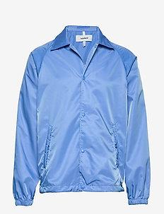 LOGIC STRUGAT JACKET - bomber jackets - blue