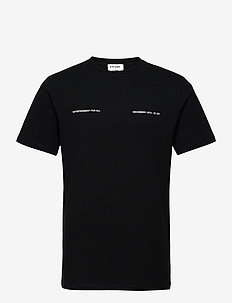 December T-shirt - basic t-shirts - black