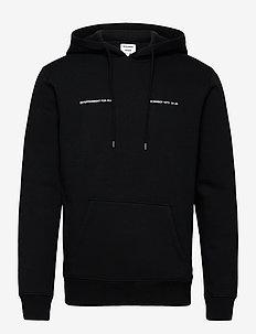 December hoodie - basic-sweatshirts - black