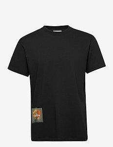 Stilleben Square T-shirt - basis-t-skjorter - black