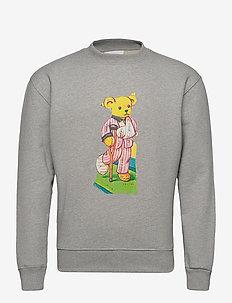 Scraps sweatshirt - sweatshirts - grey melange