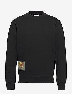Stilleben Square sweatshirt - basic sweatshirts - black
