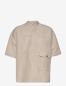 Edie shirt - short-sleeved shirts - beige