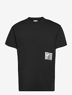 Flower T-shirt - podstawowe koszulki - black