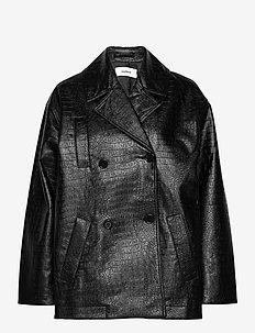 Lena jacket - skinnjackor - black