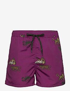 William shorts - krótkie spodenki - purple aop