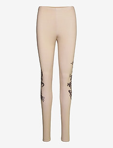 Ying leggings - vêtements - beige