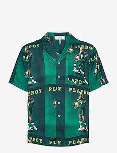 Orson Playboy shirt - chemises à manches courtes - green