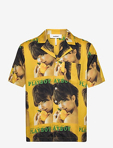Orson Playboy shirt - kortærmede skjorter - yellow