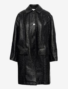 Marie coat - lette frakker - black