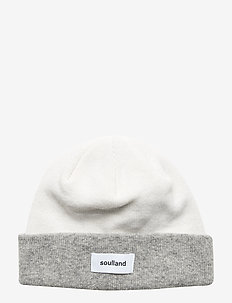 VILLY BEANIE - OFF-WHITE/GREY MELANGE