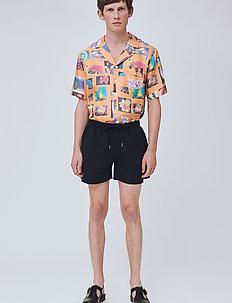 William - swim shorts - black