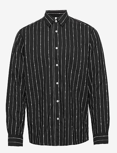 Rob - koszule w kratkę - black
