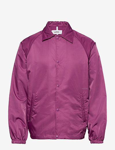 Strugat jacket - bomberjacken - purple