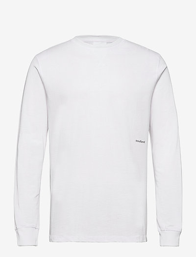 Noah long sleeve T-shirt - basic t-shirts - white