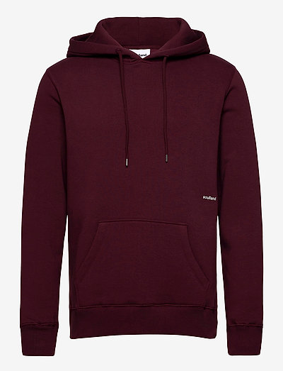 Wallance hoodie - basic-sweatshirts - burgundy