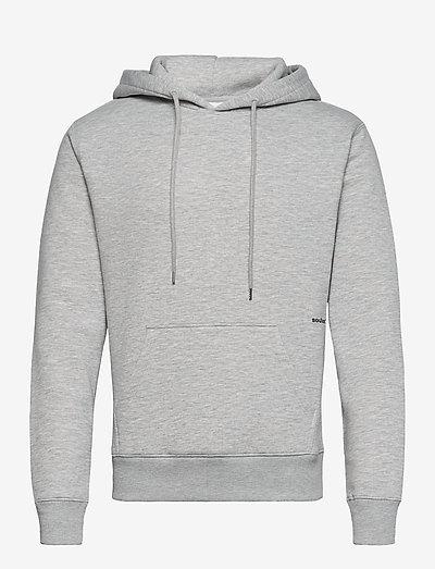 Wilme hoodie - sweatshirts et sweats à capuche - grey melange