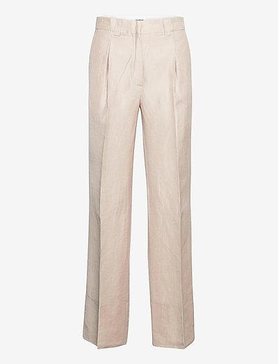 Margaret pants - broeken med straight ben - beige