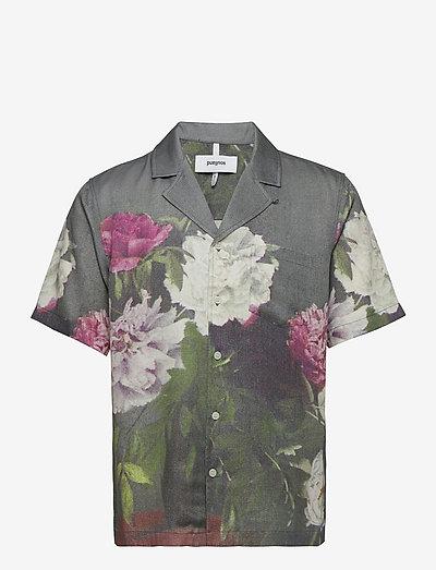 Orson shirt - oxford shirts - green aop