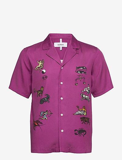 Orson shirt - oxford-skjorter - purple aop