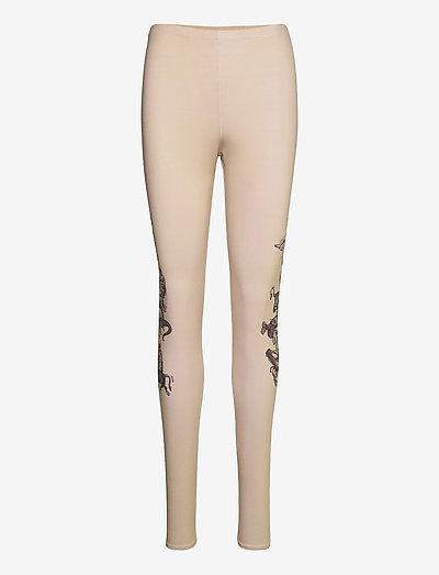 Ying leggings - leggings - beige