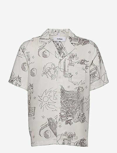 Orson shirt - oxford shirts - off white aop
