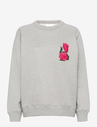 Amy Rose sweatshirt - sweatshirts et sweats à capuche - grey melange