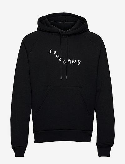 Marker logo hoodie - sweats à capuche - black