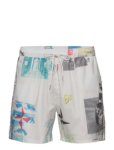 PF18 MAY WILLIAM ALL OVER PRINTED SWIM SHORTS - MULTI