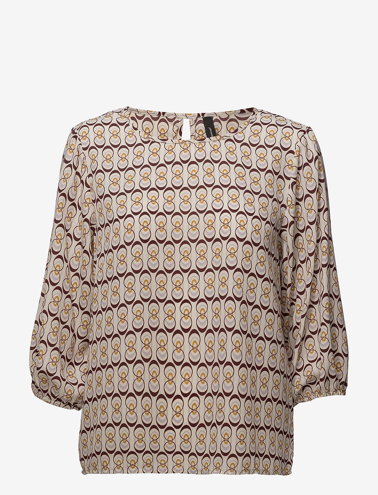 Soyaconcept - SC-MALINE - blouses à manches courtes - ruby combi