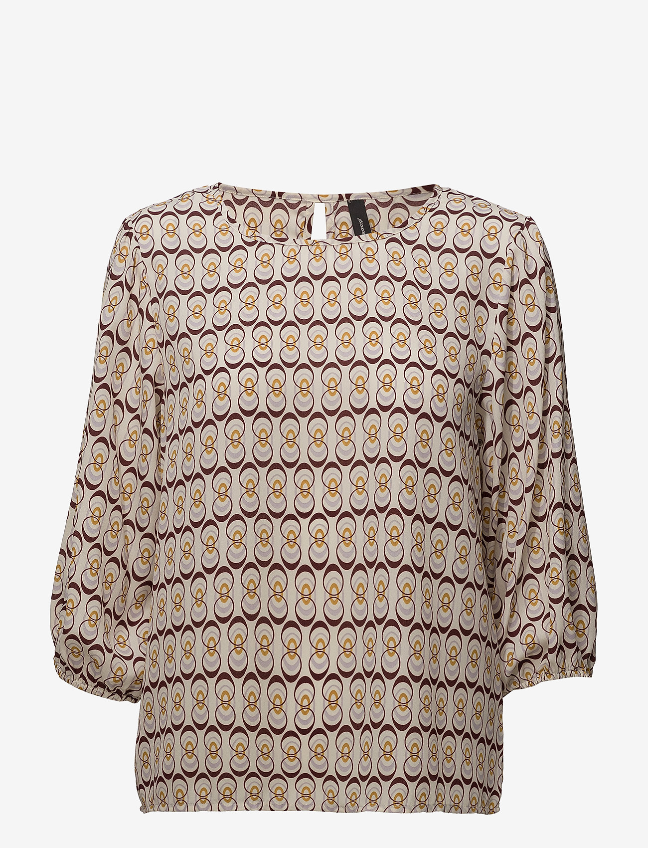 Soyaconcept - SC-MALINE - short-sleeved blouses - ruby combi