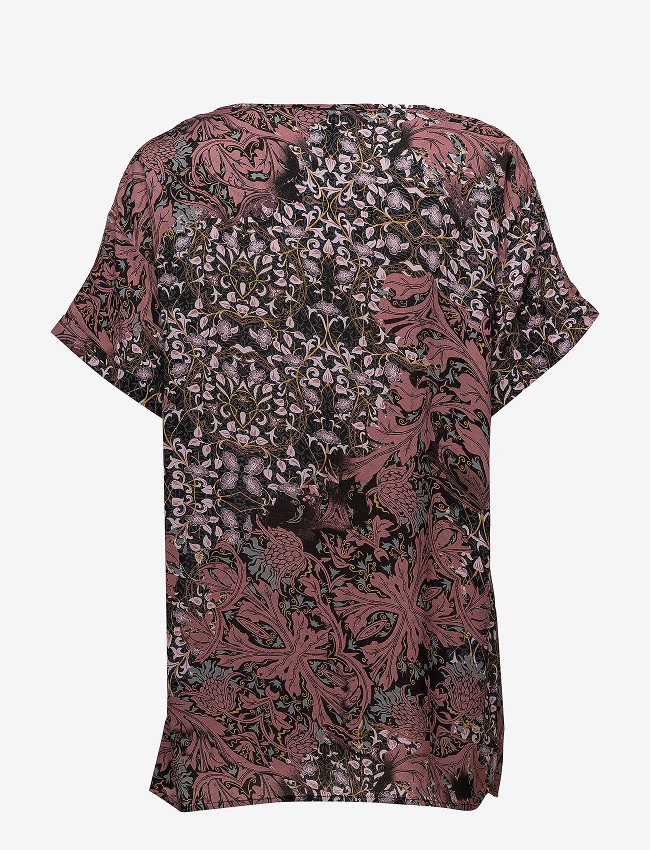 Soyaconcept - SC-MAILEA - blouses à manches courtes - ruby combi