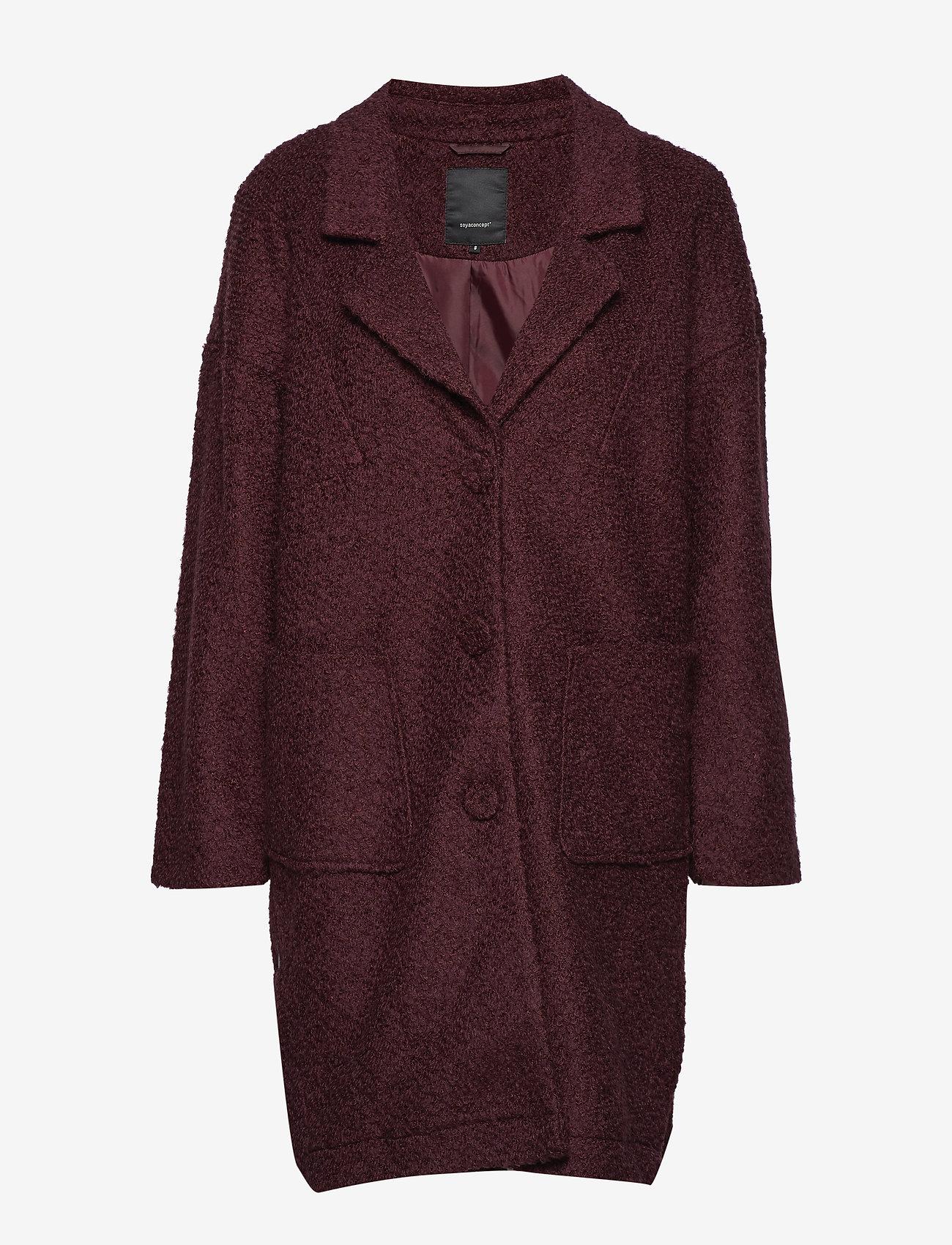 Soyaconcept - SC-MISELLA - wool coats - ruby