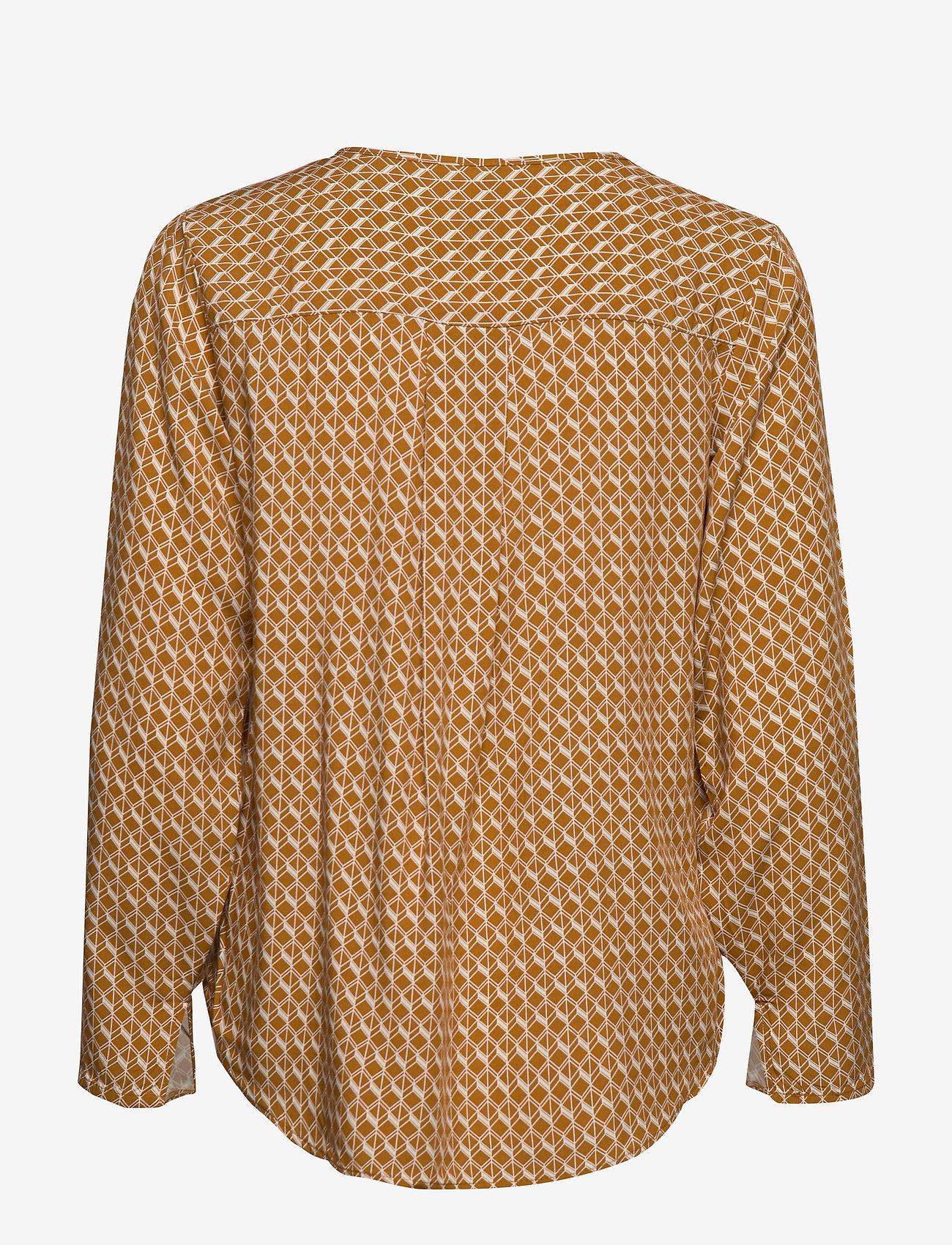 Soyaconcept SC-SAHAN - Bluzki & Koszule GOLDEN BROWN COMBI - Kobiety Odzież.