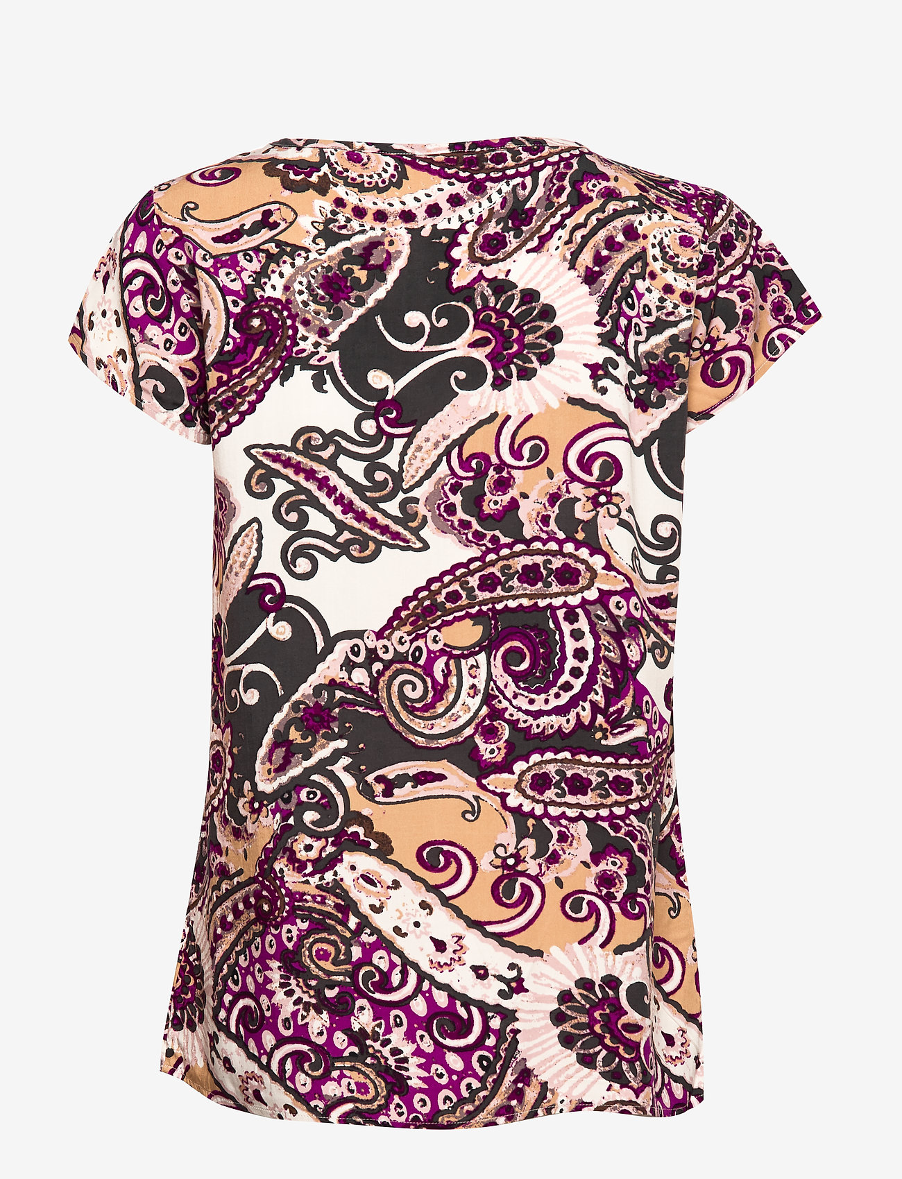 Soyaconcept SC-AZRA - T-shirty i zopy FUSHSIA COMBI - Kobiety Odzież.