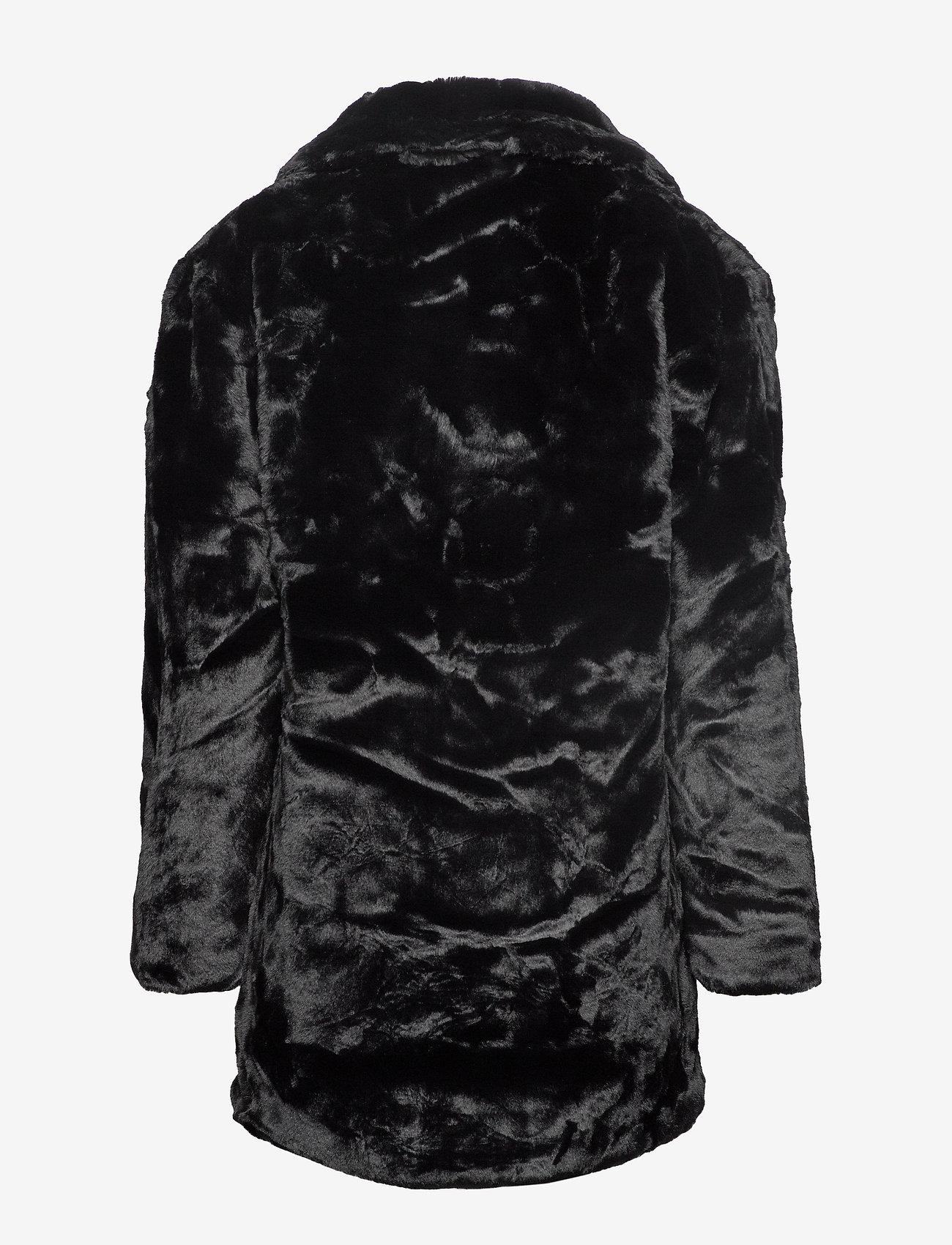 Soyaconcept - SC-AUGUSTA - faux fur - black - 1