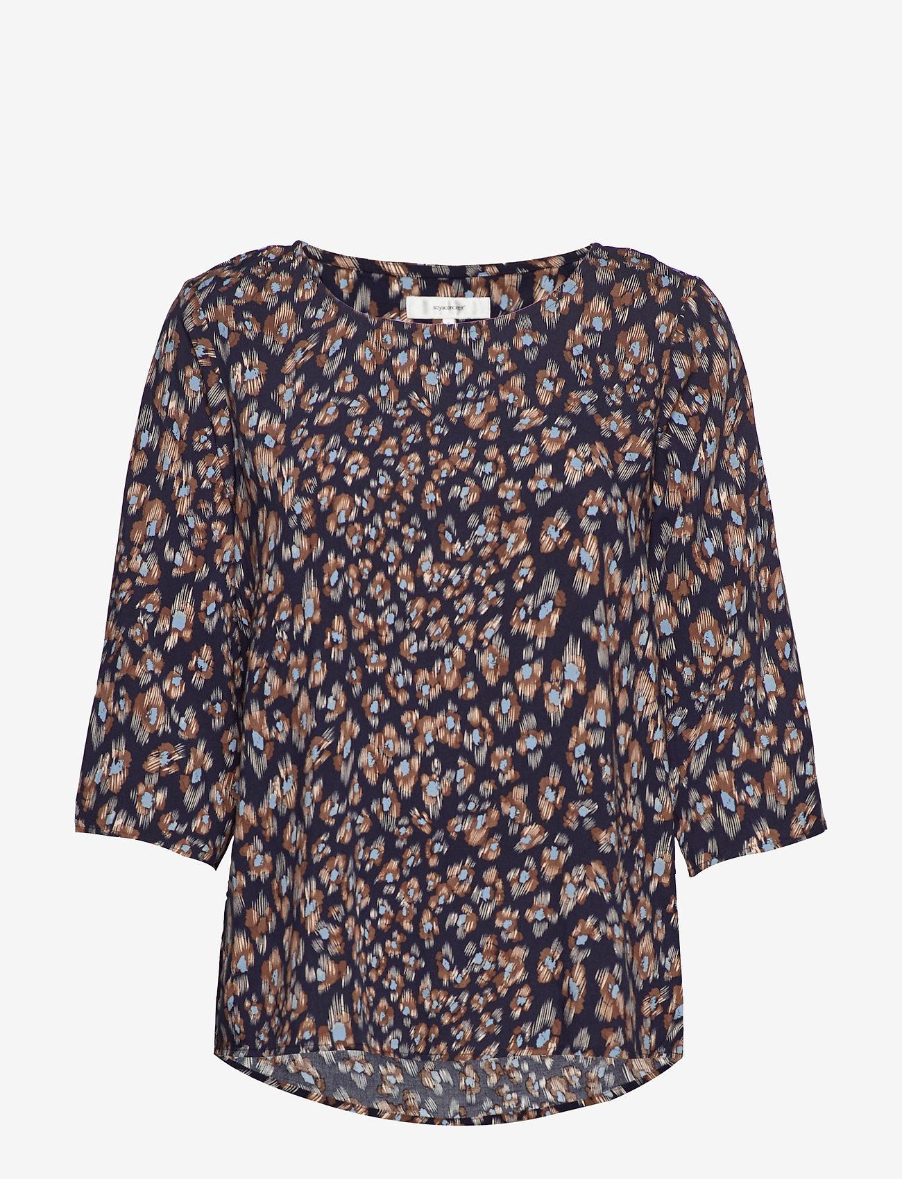 Soyaconcept - SC-BERLIN - blouses à manches longues - navy combi