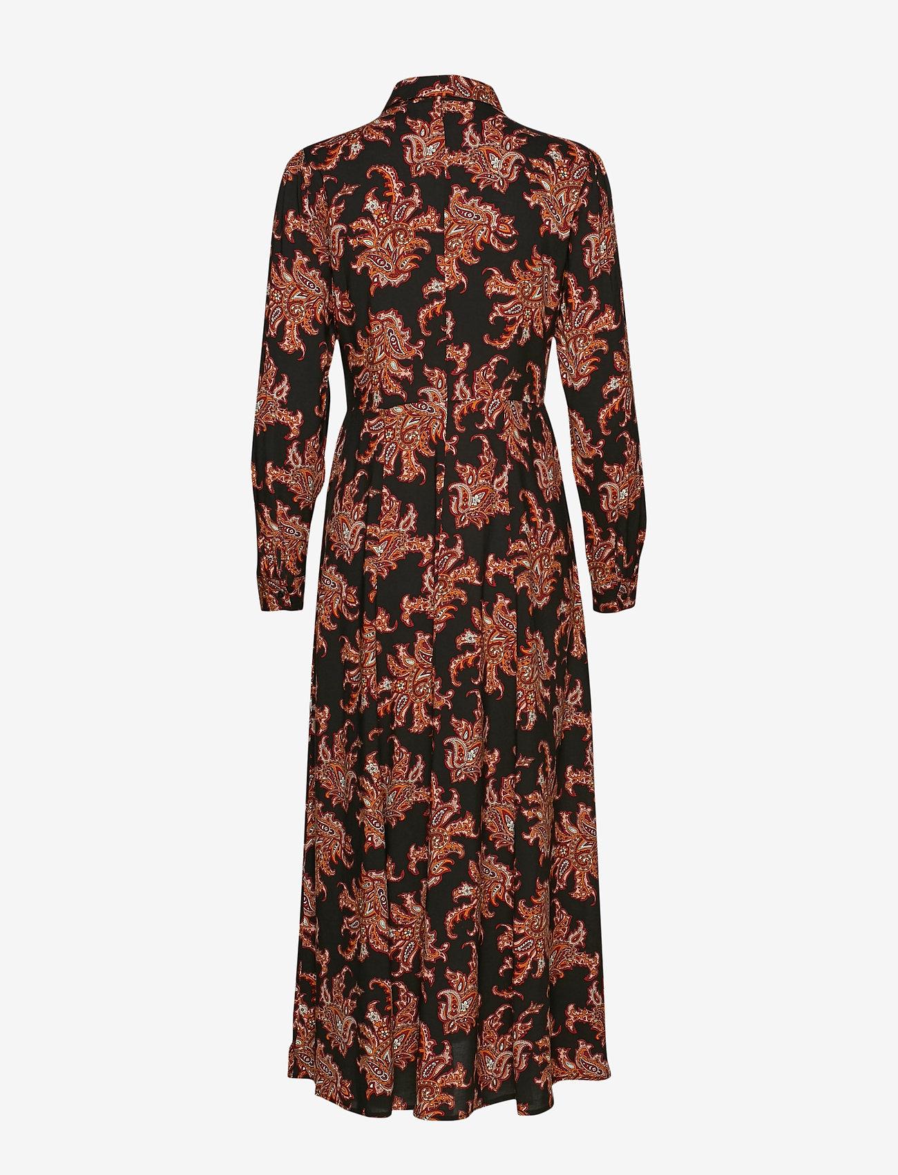 Soyaconcept - SC-BLANCA - shirt dresses - cabernet combi