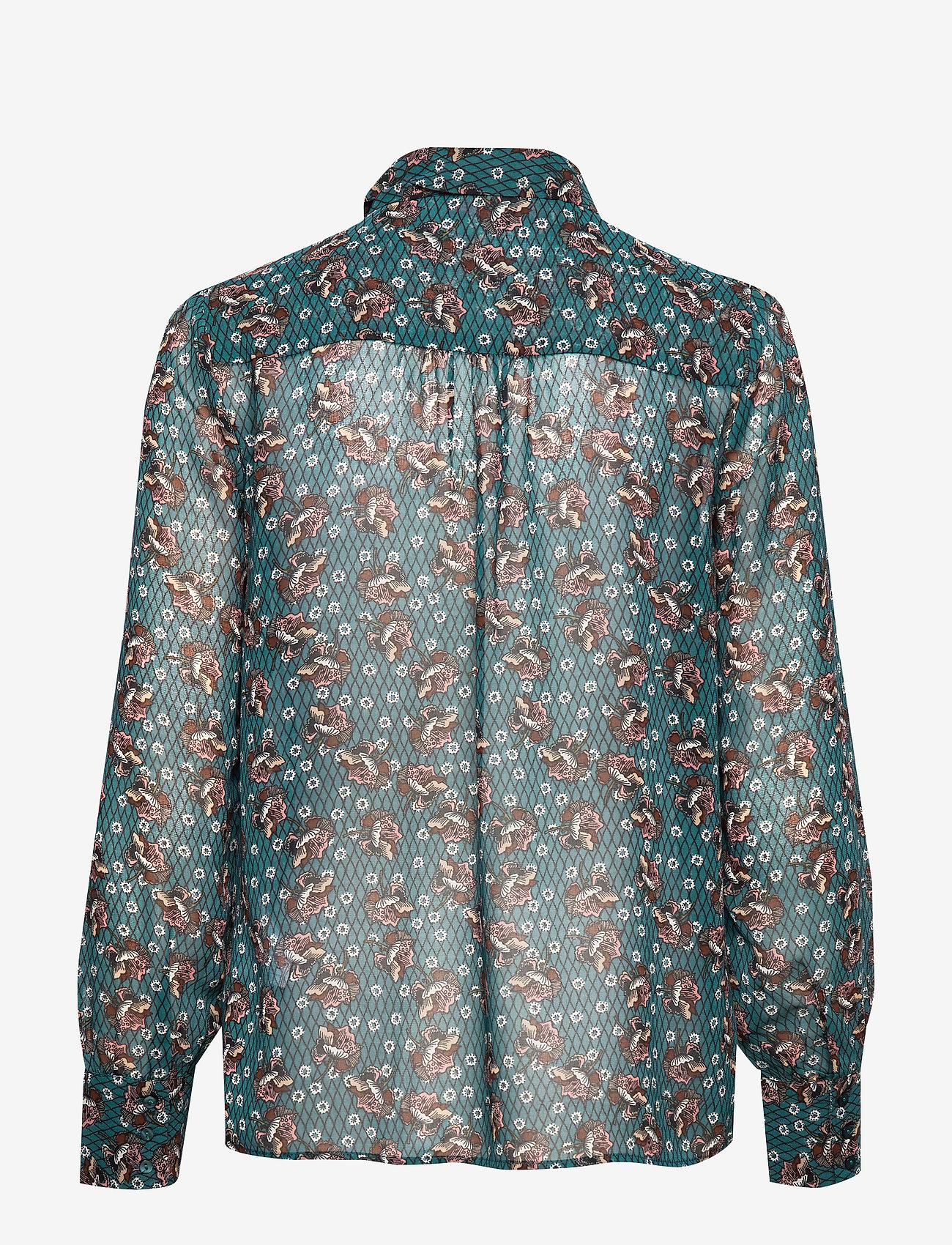 Soyaconcept - SC-BLONDIE - blouses à manches longues - deep green