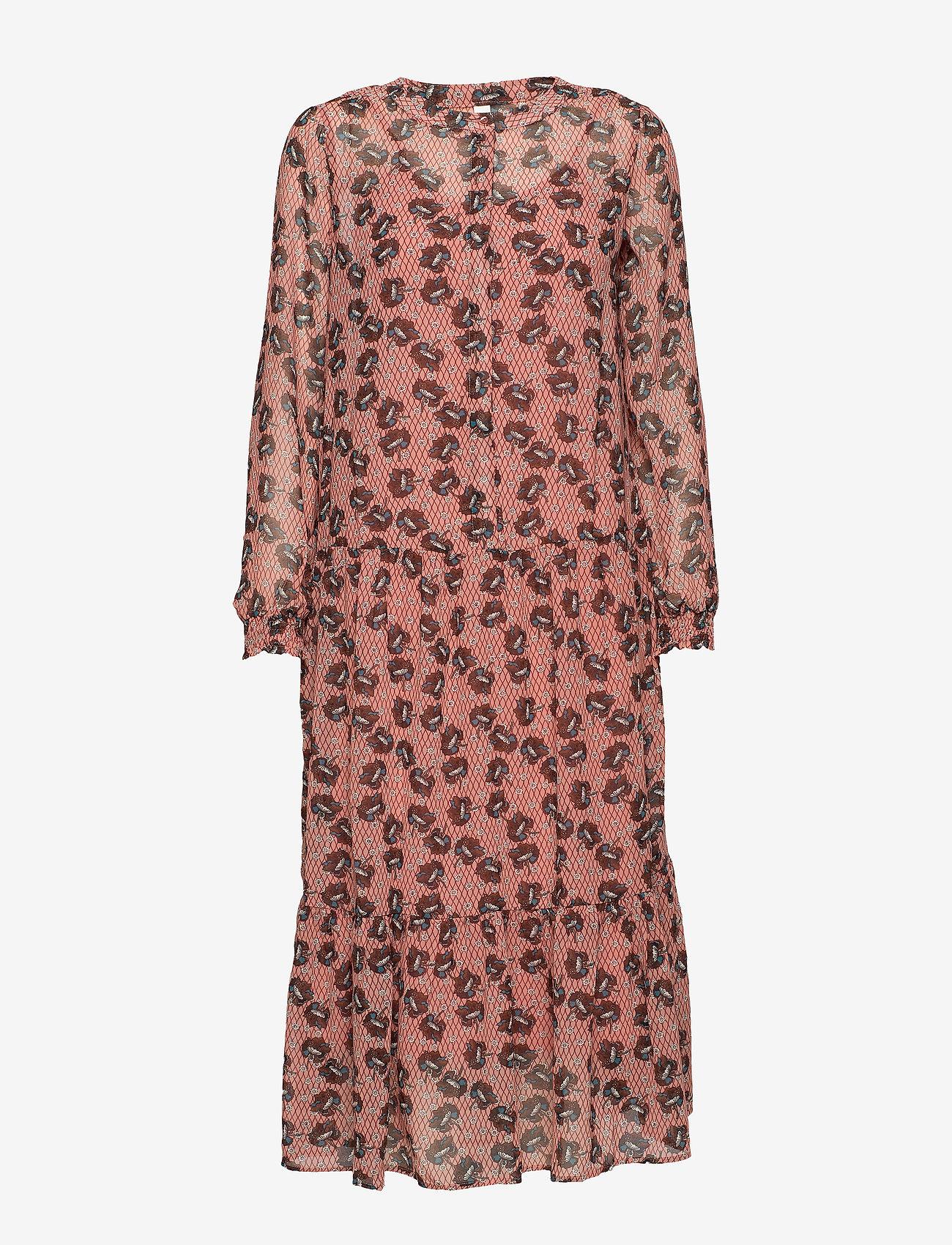 Soyaconcept - SC-BLONDIE - robes longeur du midi - rose smoke combi