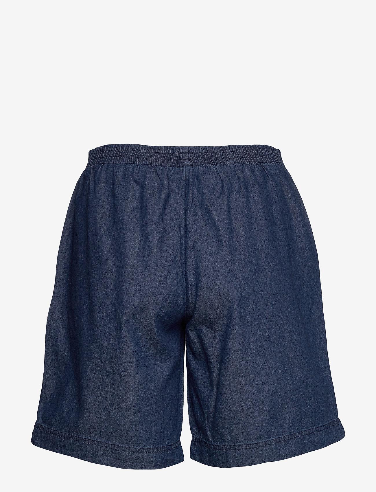 Soyaconcept - SC-AKILA CHAMBREY - bermuda-shortsit - medium blue denim - 1