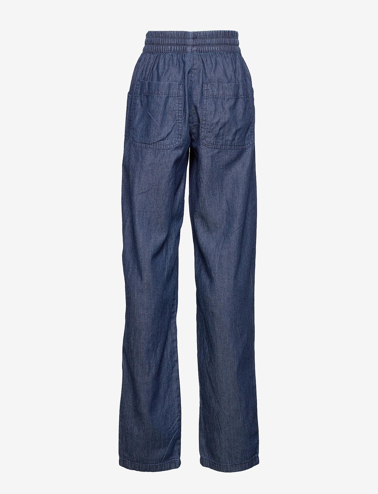 Soyaconcept - SC-AKILA CHAMBREY - casual trousers - medium blue denim - 1