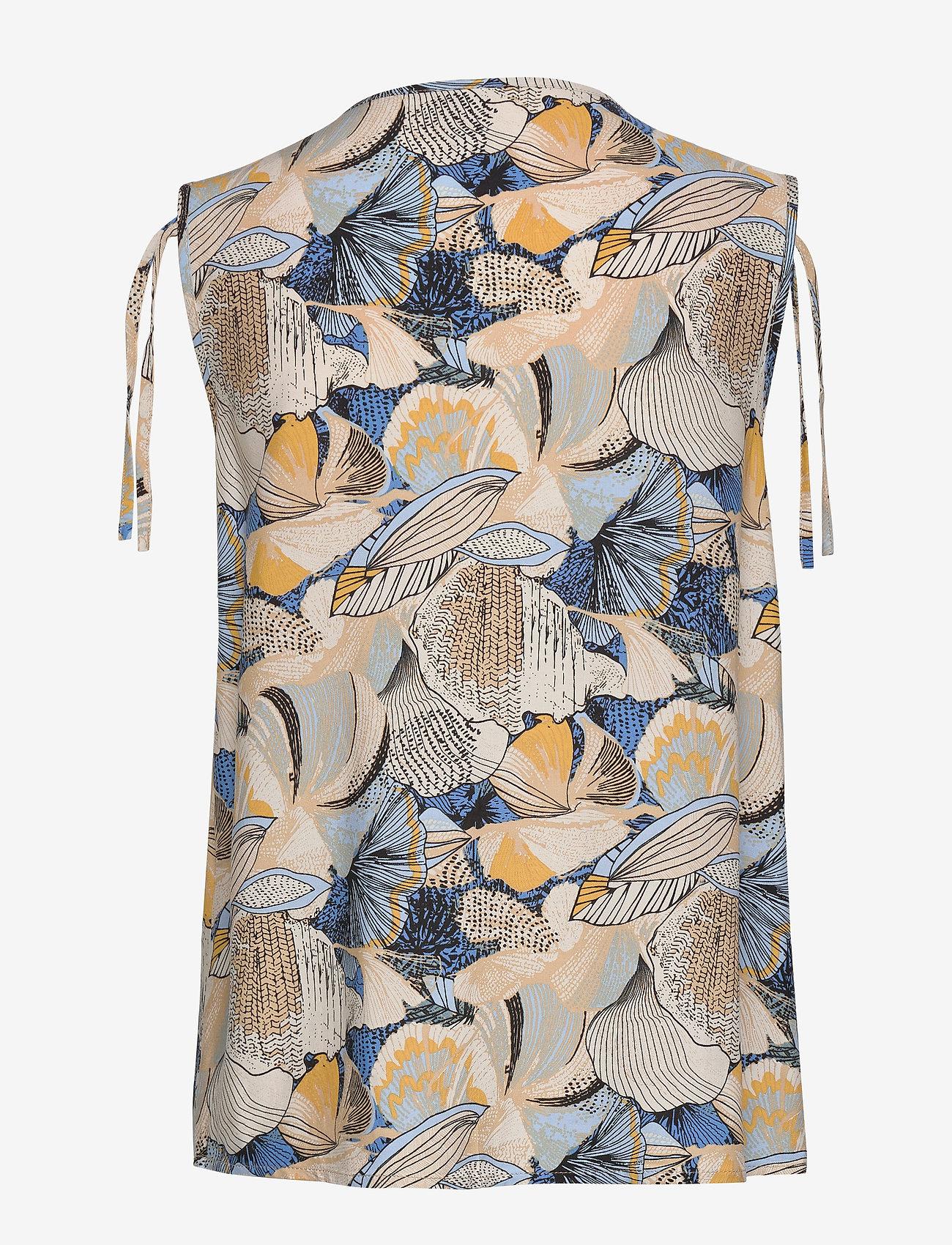 Soyaconcept SC-ILISE - Bluzki & Koszule CRISTAL BLUE COMBI - Kobiety Odzież.