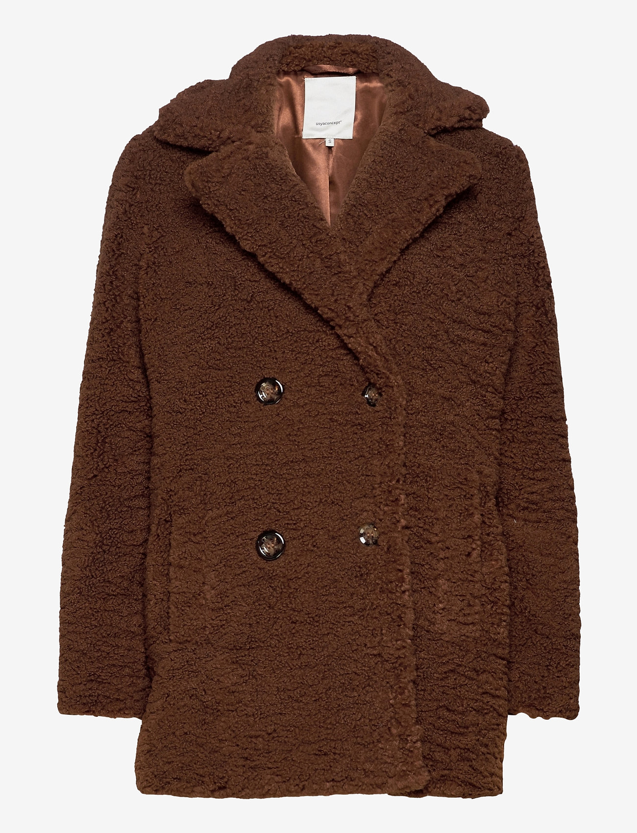 Soyaconcept - SC-KINGA - faux fur - brown - 0