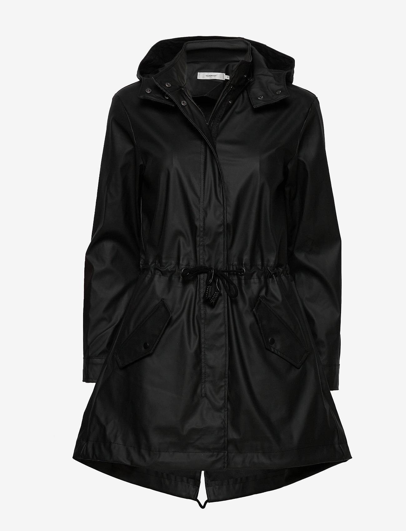 Soyaconcept - SC-ALEXA - manteaux de pluie - black - 0