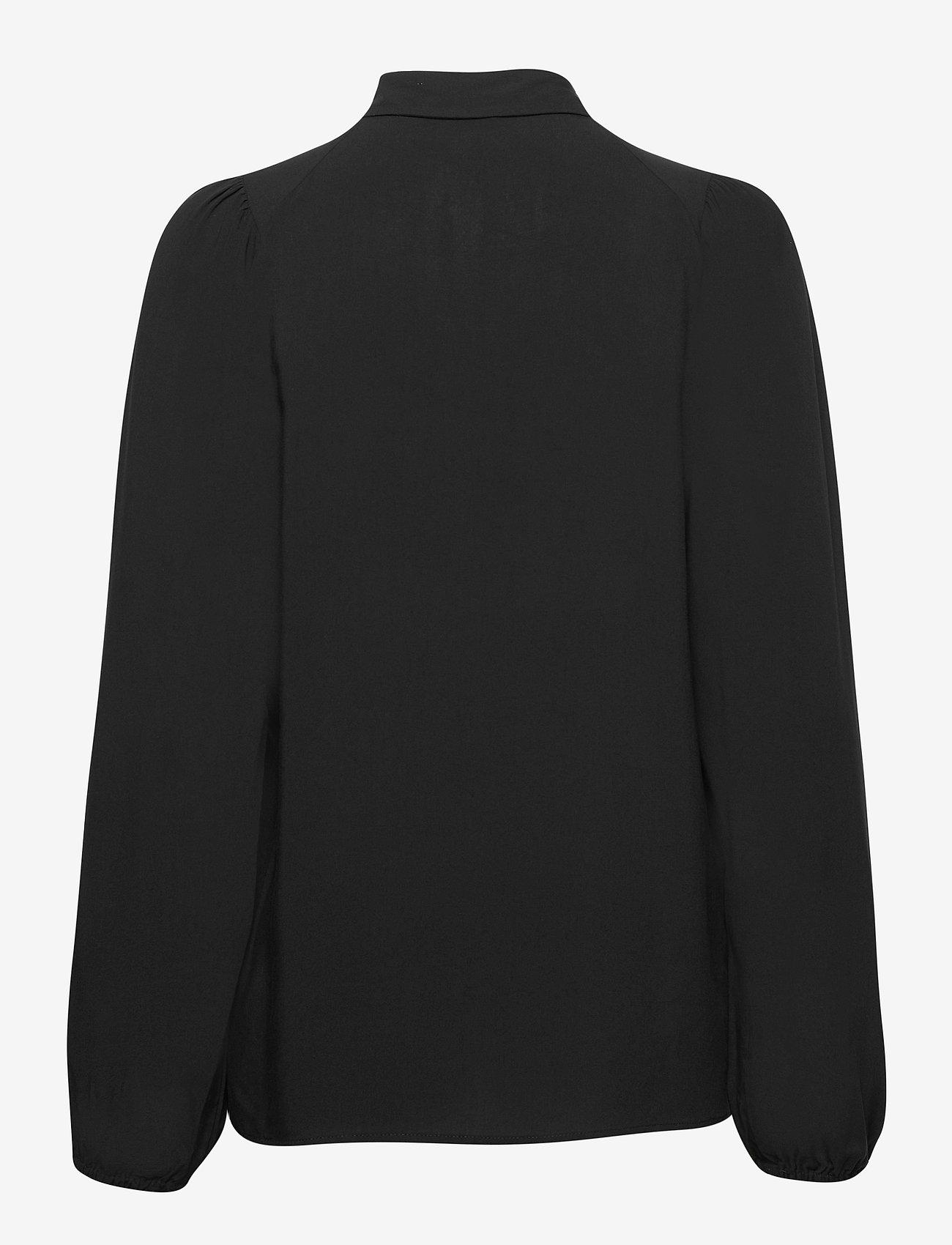 Soyaconcept - SC-RADIA - long sleeved blouses - black - 1