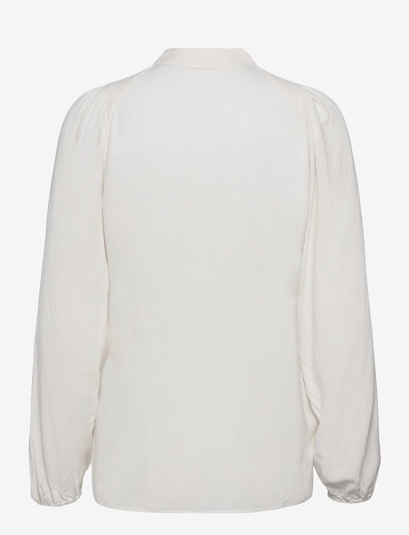 Soyaconcept - SC-RADIA - long sleeved blouses - offwhite - 1