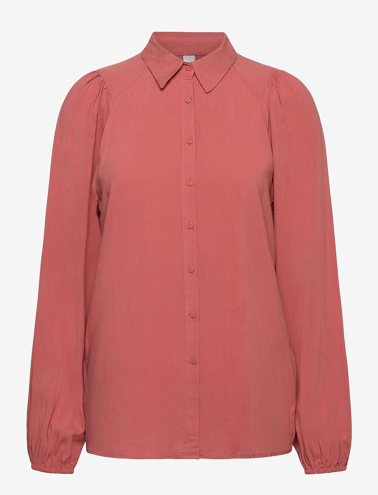 Soyaconcept - SC-RADIA - long sleeved blouses - sierra - 0