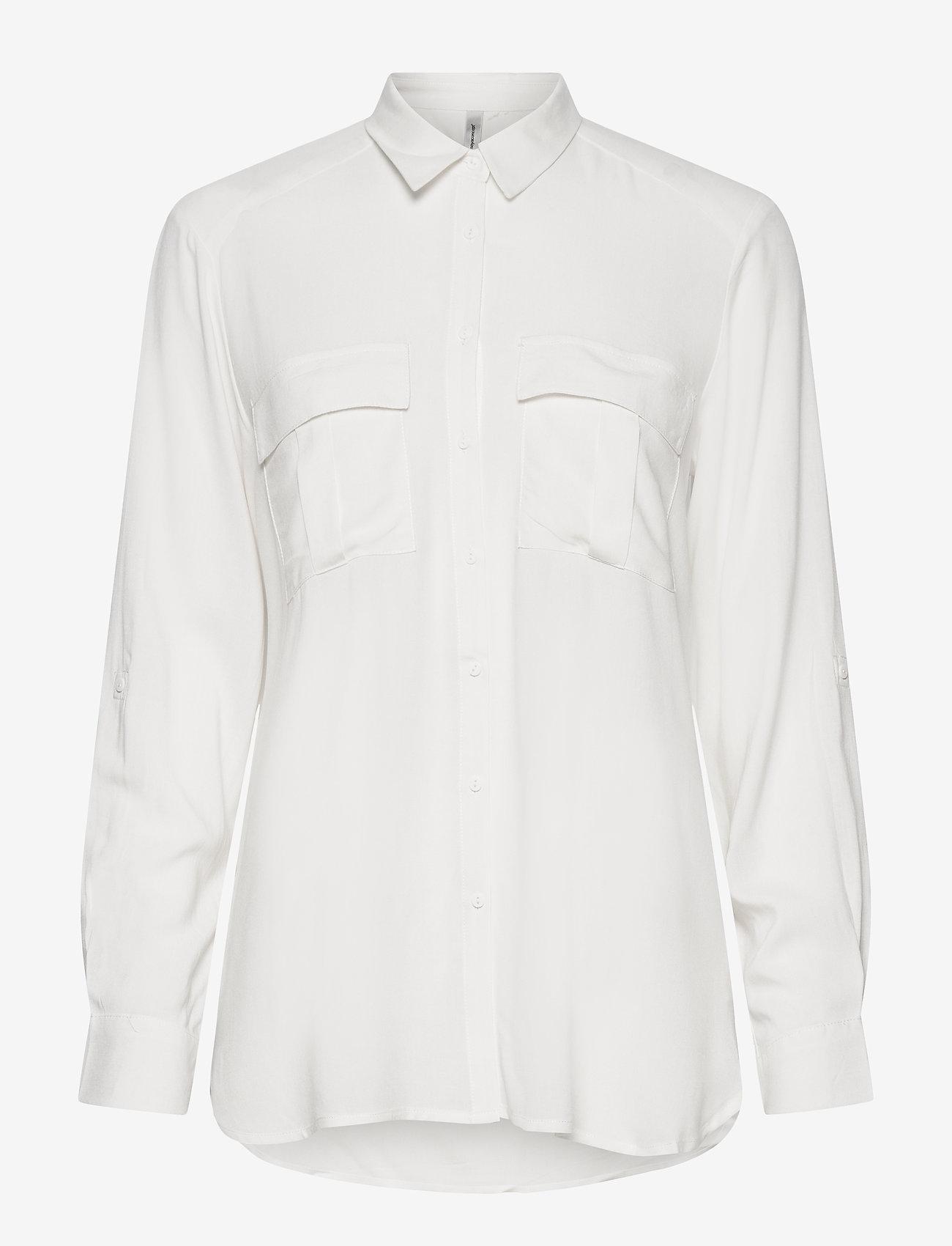 Soyaconcept - SC-RADIA - long sleeved blouses - offwhite - 0
